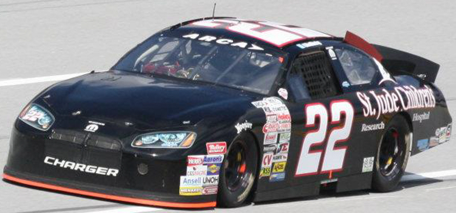Alex Bowman at Talladega 2012