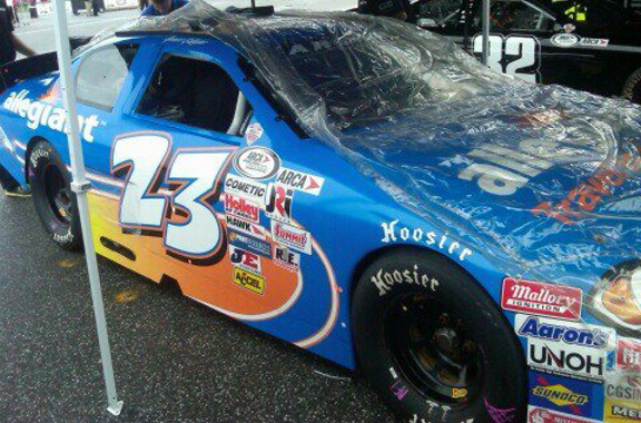 Spencer Gallagher at Talladega 2012