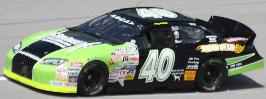 Greg Hutto Jr. at Talladega 2012