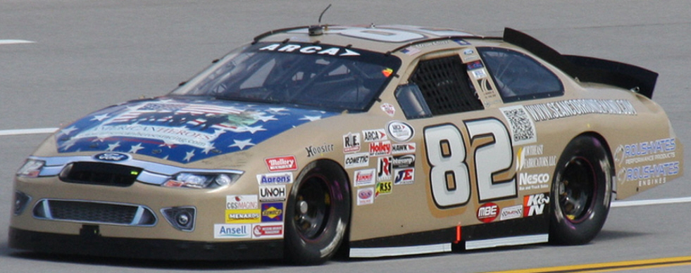 Sean Corr at Talladega 2012