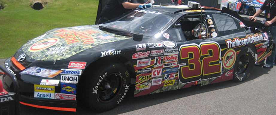 Aleks Gregory at Pocono 2012
