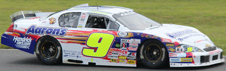 Chase Elliott at New Jersey 2013