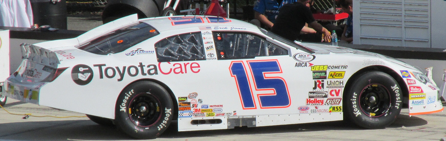 Erik Jones at Pocono 2013