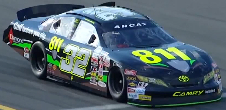 Mason Mingus at Pocono 2013