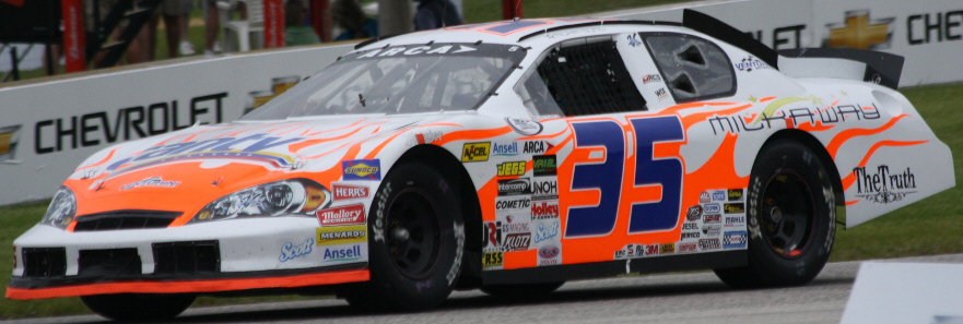 Milka Duno at Road America 2013
