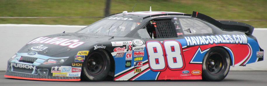 Justin Allison at Pocono 2014
