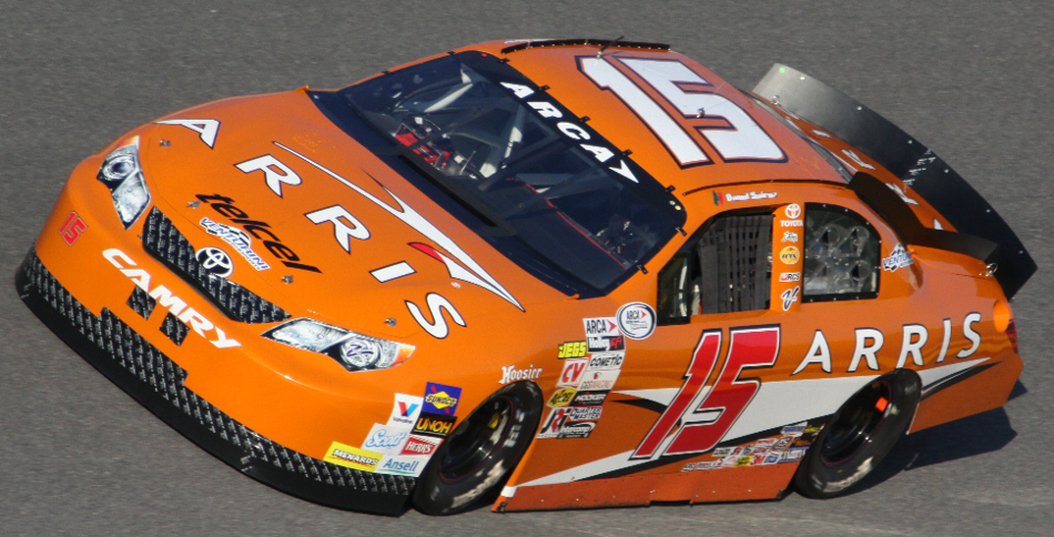 Daniel Suarez at Daytona 2015
