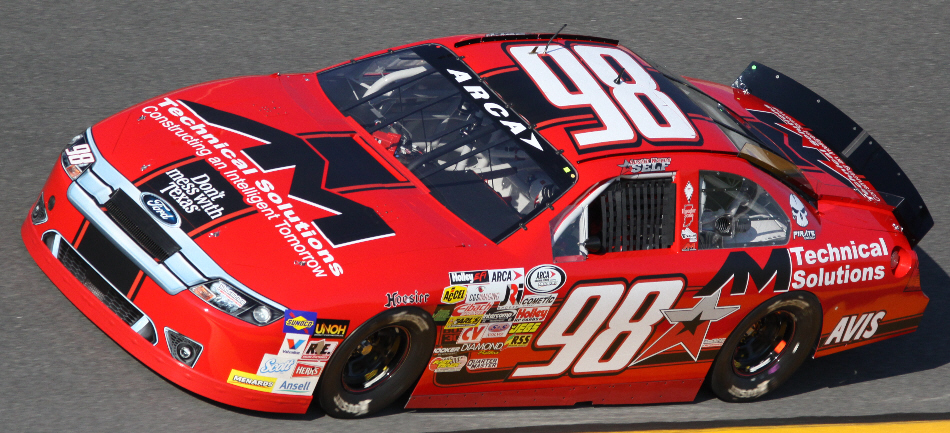 Austin Wayne Self at Daytona 2015