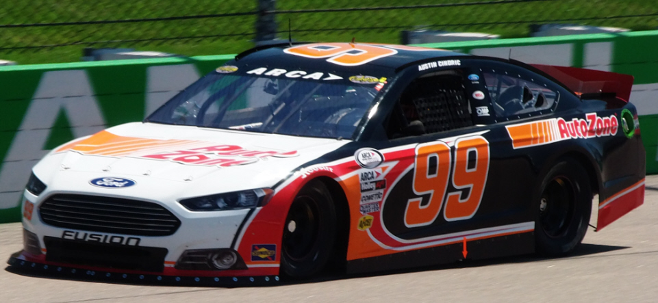 Austin Cindric at Iowa 2015