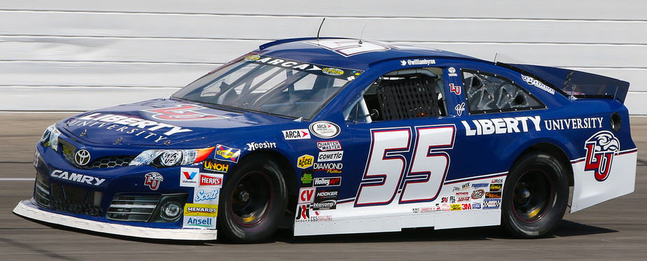 William Byron at Lucas Oil 2015