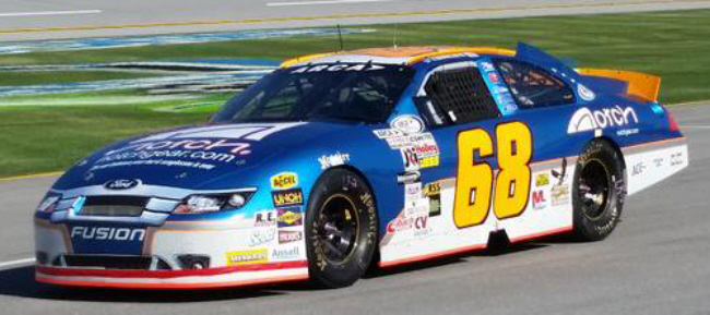 Chris Bailey Jr. at Talladega 2015