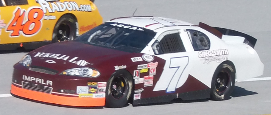 George Cushman at Talladega 2015