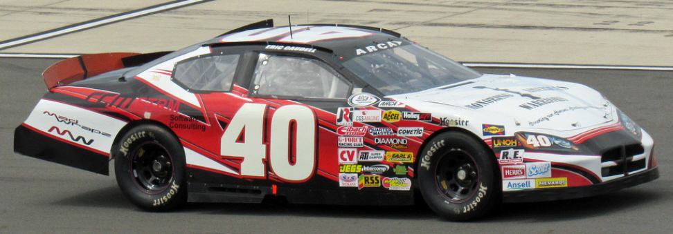 Eric Caudell at Pocono 2015