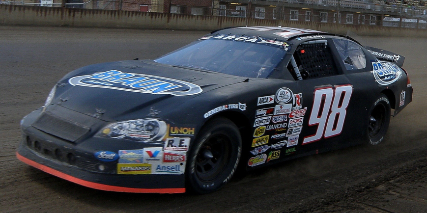 Justin Haley at Springfield 2016