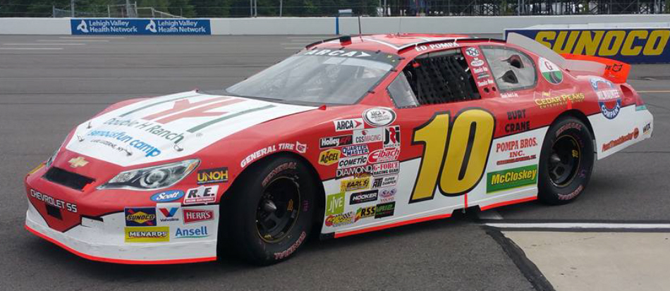 Ed Pompa at Pocono 2016