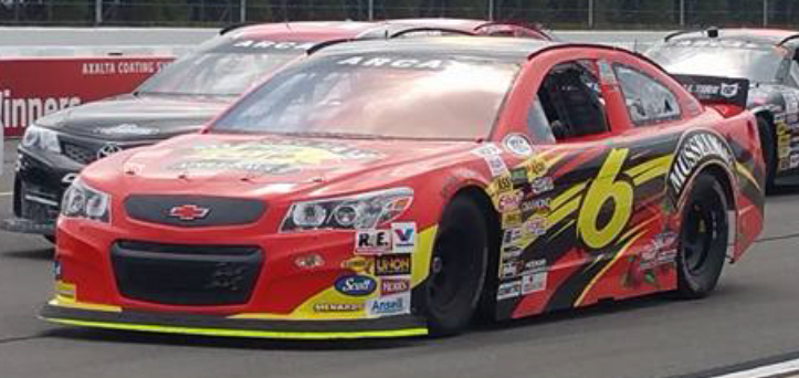 Josh Williams at Pocono 2016