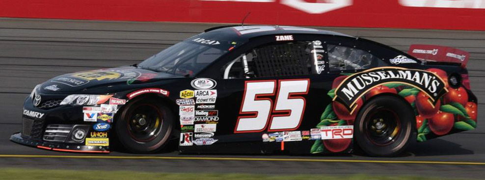Zane Smith at Pocono 2017