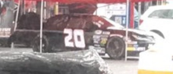 Zane Smith at Talladega 2017